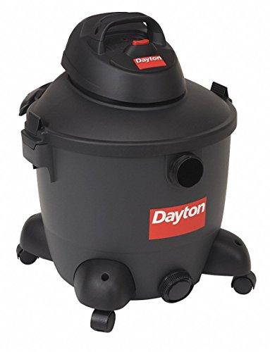 Dayton Wet/Dry Vacuum Cleaner, 18-1/2in.W, 120V