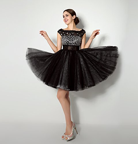 Love Dress Beading Black Short Prom Dress Party Gown Us 16 by Love To Dress (Image #1)