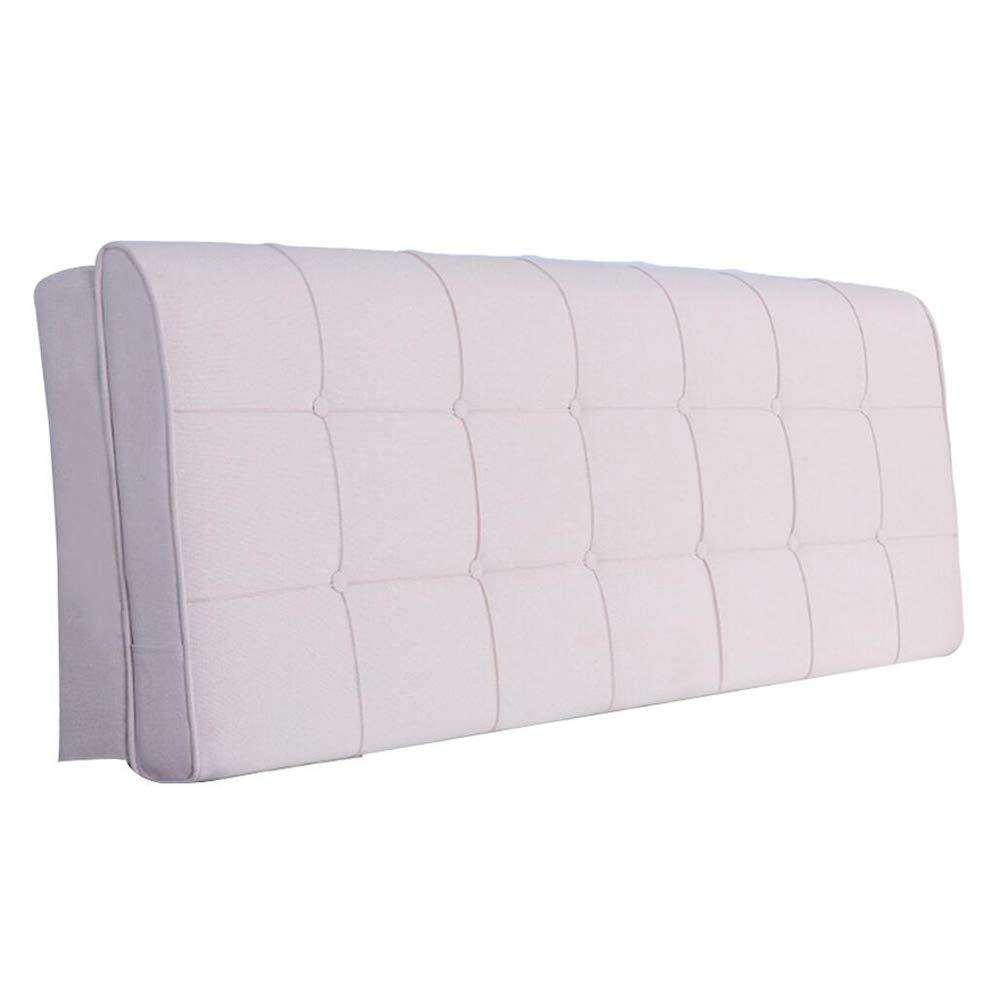 PENGFEI クッションベッドの背もたれ抱き枕 ベッドサイドソフトカバー リネン 疲労を和らげ、 洗える、 4色、 5サイズ (色 : B, サイズ さいず : 120cm) B07RKGBTR8 B 120cm