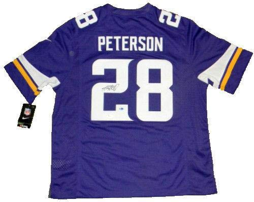 Adrian Peterson Signed Jersey - #28 Nike Limited - JSA Certified - Autographed NFL Jerseys - Peterson Autographed Jersey
