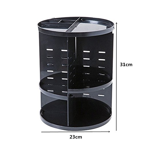 BranXin - Makeup Organizer 360 Rotating Adjustable Storage B