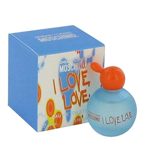 I Love Love by Moschino Women's Mini EDT .17 oz - 100% (I Love Love For Women Eau De Toilette)