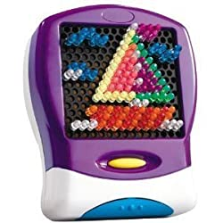 Lite Brite Purple Travel Game