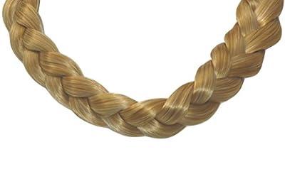 BRAID PLAITED CHUNKY HAIR HEADBAND GOLD BLONDE HAIR PIECE [Health and Beauty] Synthetic