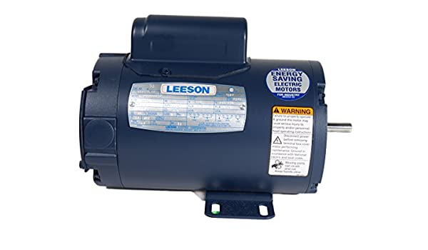 1625 RPM Rigid Mounting 48Z Frame 1 Phase 60Hz Fequency A4P17NR2H 115//230V Voltage 1//3HP Leeson 100804.00 Agricultural Fan Duty Motor