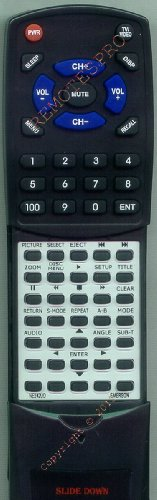 Replacement Remote Control for EMERSON EWL15D6, EWL15D6A, EW