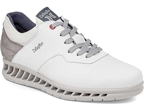 Callaghan 10401 Evolution - Zapato sport caballero, Adaptaction Blanco