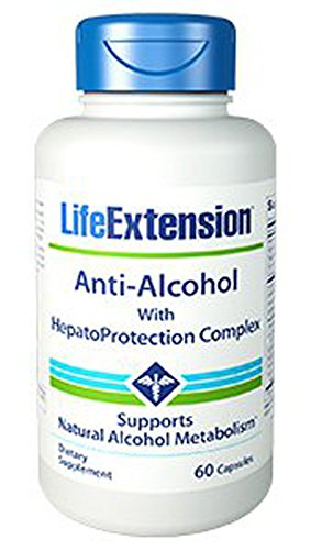 Anti-Alcohol Antioxidants with HepatoProtection Complex 60 - Extension Antioxidant