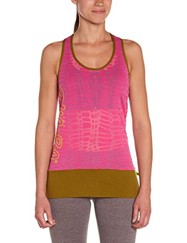 Zumba Fitness Women's Cut Me Loose Bubble Top, Back to the Fuchsia, X-Large/XX-Large