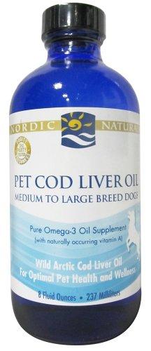 Cod Liver Oil for Pets CLO - Nordic Naturals - 8 oz