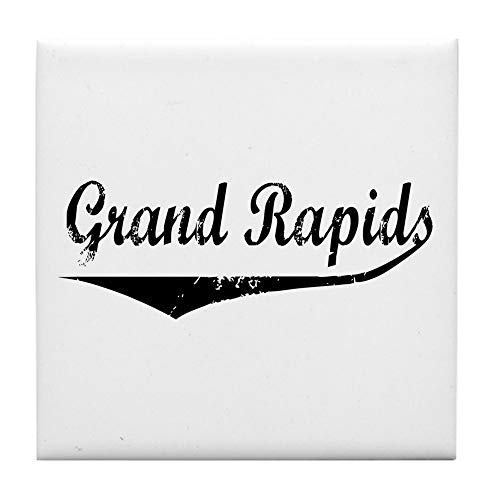 CafePress Grand Rapids Tile Coaster, Drink Coaster, Small Trivet -