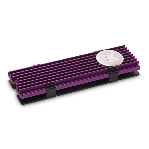 EKWB EK-M.2 NVMe Heatsink, Purple