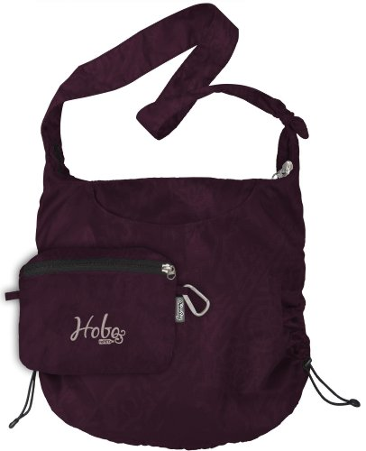 ChicoBag Reusable Hobo rePETe Shopping Tote (Purple Potion, Bag Handle 15-Inch, Bag Body 28.5-Inch x 17-Inch, Pouch 6.25-Inch x 8-Inch)