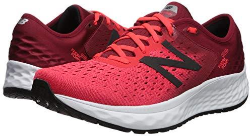 New Balance Men's 1080v9 Fresh Foam Running Shoe, Energy red/Nubuck Scarlet/Black, 7 W US by New Balance (Image #5)