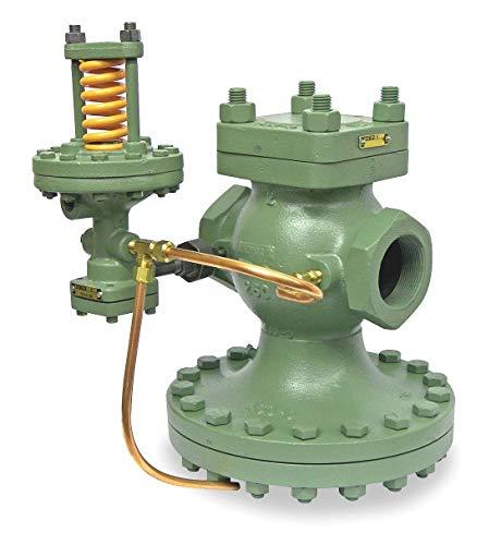 - Spence E Series 6-1/2L Cast Iron Pilot-Operated Pressure Regulator, 20 to 150 psi - E-C1F9A1B1AN1
