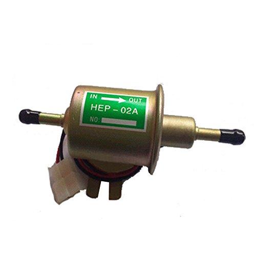 Heavy Elektrisch Kraftstoffpumpe Benzinpumpe HEP-02A 12V fü r Metall Intank Diesel Benzin Booten Unbekannt