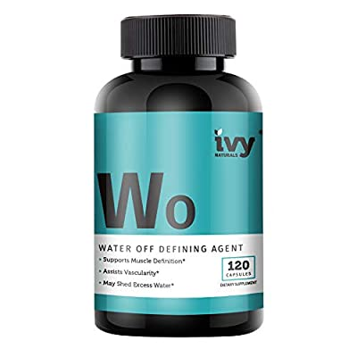 Water Shed by Ivy Naturals || Natural Diuretic Supplement || Relieve Bloating & Lose Water Weight || Satisfaction Guaranteed