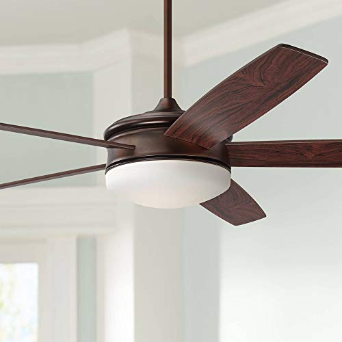 Casa Vieja Oil-Brushed Dimmable Ceiling Fan 70-Inch with Remote Control - 70 Inch Ceiling Fan