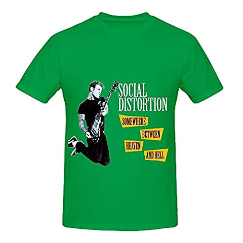 Social Distortion Somewhere Between Heaven And Hell Tracks Mens Design Shirts (Hetalia Vol 2)