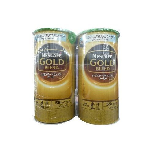 Nescafe Gold Blend Eco & System pack 110gX4-pack 440g total about 220 cups