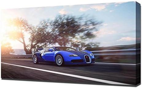 Art print POSTER Eb-16-4-Veyron CANVAS Bugatti