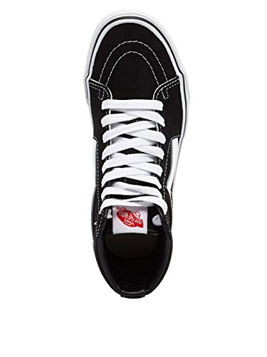 Alti Unisex Vans Sneakers Sk8 Hi Nero Bianco Adulto qUUtTaxw
