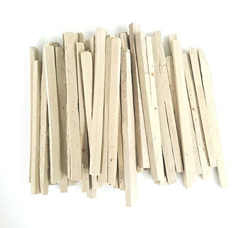 Slate Pencil Natural Lime Stone Chalk Pencil pack of 50 pencils by Rawsimple