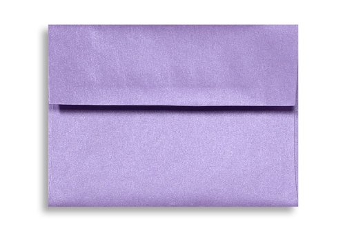 A1 Invitation Envelopes (3 5/8 x 5 1/8) - Amethyst Metallic (50 Qty) | Perfect for RSVP Cards, Invitations, Announcements and Notes | 5365-17-50 Photo #2