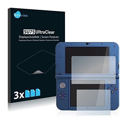 6x Displayschutzfolie für Nintendo New 3DS XL Folie Schutzfolie Displayfolie - Klar