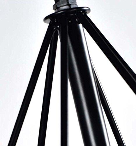 GAOLIQIN Iron Pendant Lamp, Creative Personality Simulation Plant Art Pendant Light,Theme Concert Bar Window Restaurant Decoration Chandelier (Size : 40CM) by GAOLIQIN (Image #6)