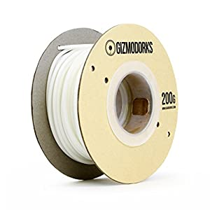 Gizmo dorks petg filament for 3d printers 3mm (2.85mm) 200g, white
