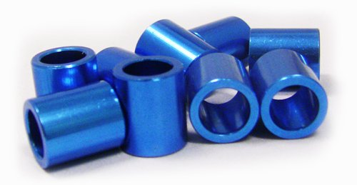 BSB Inline Rollerblade Axle Aluminum Speed Spacer 8-Pack Micro Spacers for 8mm Axles ()
