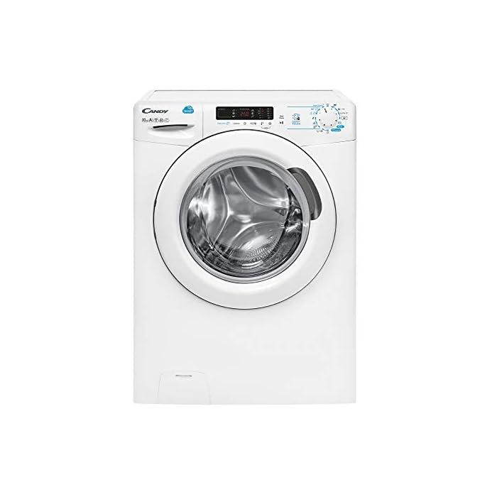 41sAw6dlevL Haz clic aquí para comprobar si este producto es compatible con tu modelo Puerta XXL, grande y alta: Di adiós a los dolores de espalda mientras introduces la colada en la lavadora Lavadora conectada a NFC: Conecta tu lavadora con la App Simply-Fi y consigue unos ciclos optimos de lavado