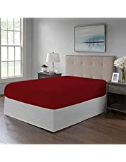 Fitted Bed Sheet -1Pcs-Cotton-for Mattress Size 180x200 cm from Tigers , 2725607248805