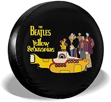 イエローサブマリン ザ・ビートルズ The Beatles Yellow Submarine Wall Decals へタイヤカバー タイヤカバー スペアタイヤカバー タイヤ袋 へタイヤバッグ タイヤトート へタイヤ ホイール 保管 タイヤ 収納 に便利 防日焼け 防塵 防水 厚手生地 劣化対策 長持ち