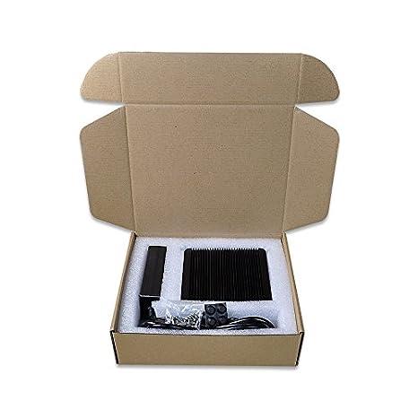 Barebone mi3150 N Intel Celeron N3150 (2 M Cache, UP TO 2,08 GHz), Barebone 2 LAN, 2 HDMI 1 VGA, 1 com, 6 USB, Support Windows OS/Linux: Amazon.es: ...