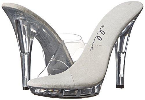 Ellie para Vanity Transparente Sandalias M Shoes Mujer IqUzEIrw