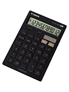 Canon HS-121TCG - Calculadora básica de sobremesa, color negro