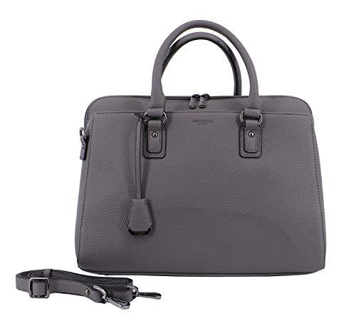 Hexagona, sac à main pour femme 37 x 14 28 gris