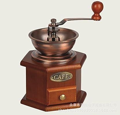 KLXEB Cafetera Italiana Mano Molino De Café Molino De Café Manual ...