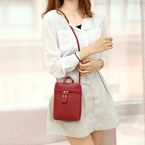 Bags Girls Shoulder Handbags Small Purses Square Chic Wine Mini Coin Cross Inkach Womens by Mini Messenger Body Bag t4SZwzXq