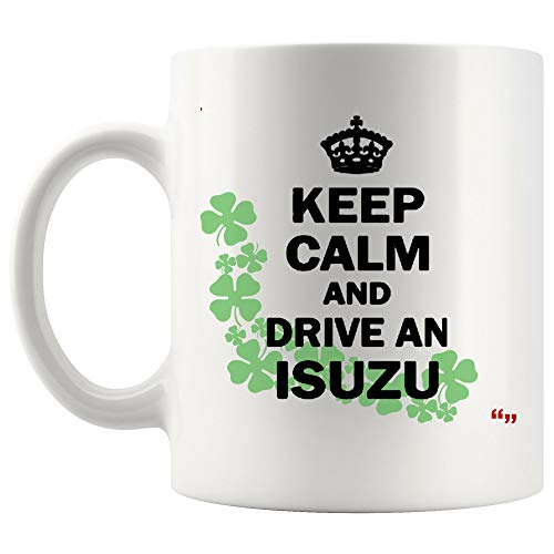 (Unique Mug & Funny Coffee Cup Party Gifts Funne joke KEEP CALM DRIVE ISUZU ute truck KEE Humorous Party Gifts )