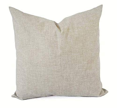 """14/"""" 16/"""" 18/"""" 20/"""" 22/"""" New Cushion Cover Beige Brown Grey Floral Fabric Handmade"""