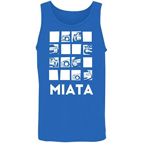 DoozyGifts99 Miata-Racing Gift Mens Womens American Auto Car Tank ()