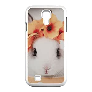 Cute rabbit CUSTOM Phone Case for SamSung Galaxy S4 I9500 LMc-34983 at LaiMc