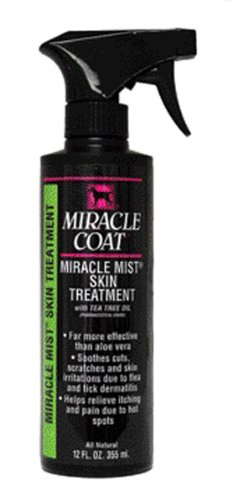 Miracle Coat Irritated Skin Treatment Spray for Dogs, My Pet Supplies