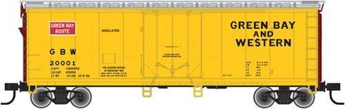 Atlas 20002738 HO Green Bay and Western 40' Plug Door Boxcar
