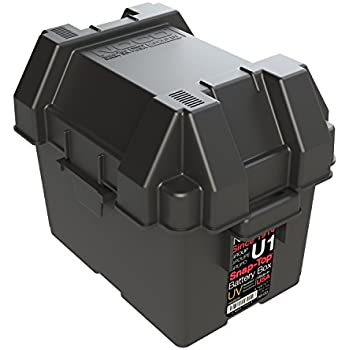 NOCO HM082BKS Group U1 Snap-Top Battery Box for Mobility Scooters Lawn and  sc 1 st  Amazon.com & Amazon.com: UPG 85980/D5722 Sealed Lead Acid Battery (12V; 35 AH ... Aboutintivar.Com