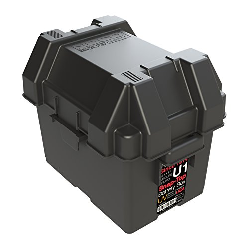 NOCO HM082BKS Group U1 Snap-Top Battery Box for Mobility, Scooters, Lawn and Garden Batteries