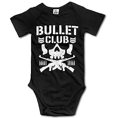 CHYY Newborn's Bullet Club Bone Soldier Organic Baby Onesie Bodysuit